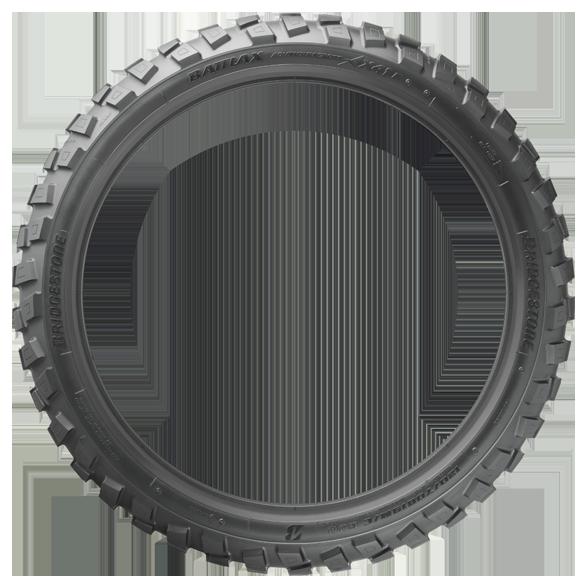 Gomme Bridgestone Battlax adventurecross ax41 120 80-18 62P TL per Moto